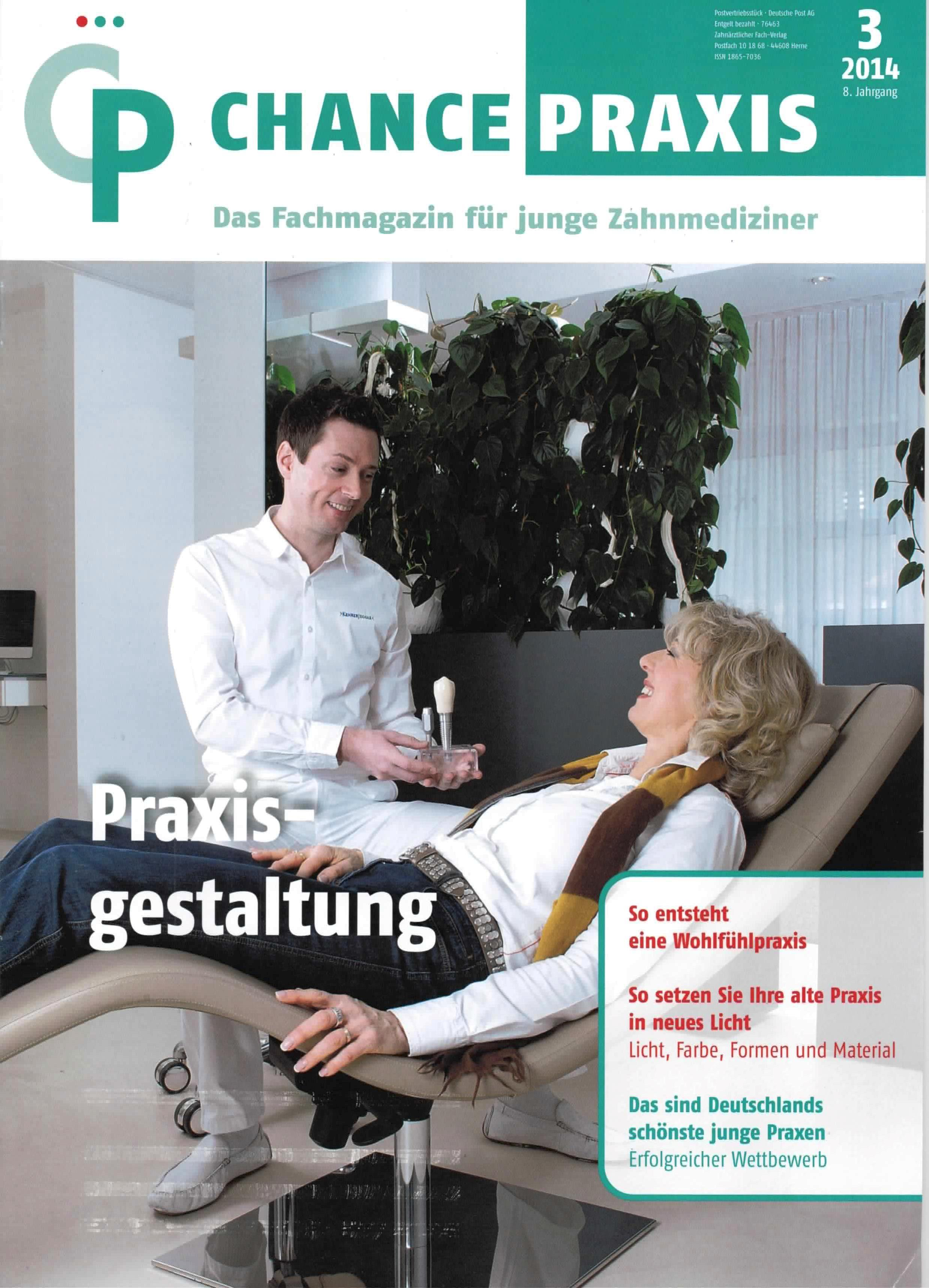 The most beautiful young dentist clinic in Germany: Chance Praxis - Article Page 1